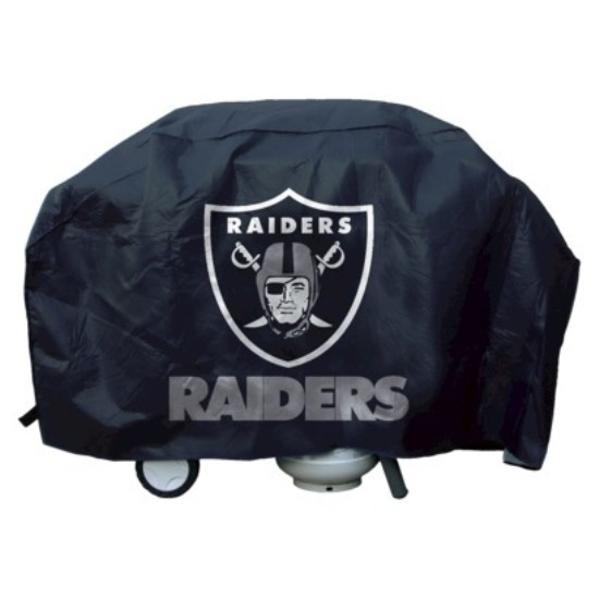 Oakland Raiders Deluxe Grill Cover by Grill Covers