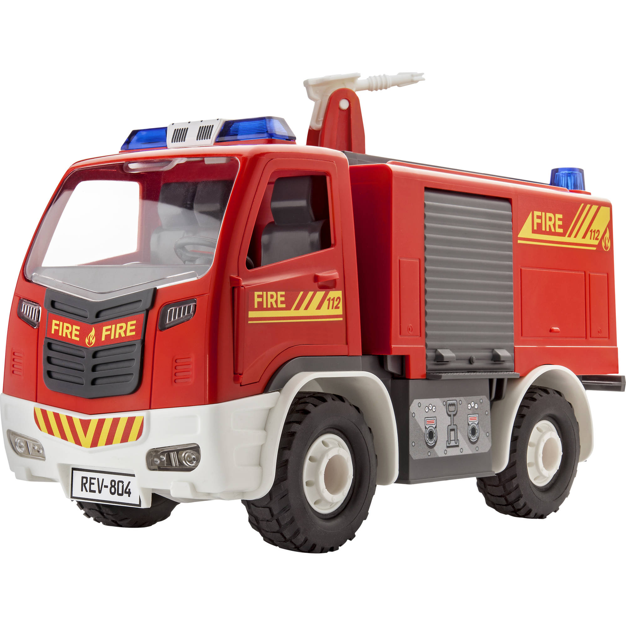 Revell Junior Kit Fire Truck Plastic Model Kit by Revell