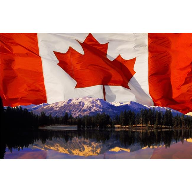 Posterazzi DPI1778311LARGE Canadian Mountains Poster Print by Corey Hochachka, 34 x 22 - Large - image 1 of 1
