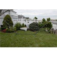 Patio Bliss Hammock Stand 15 ft. Steel- Green - Green