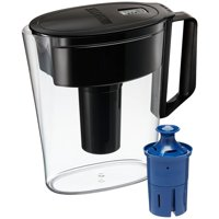 Brita Soho Water Filter Pitcher with Longlast Filter, 6 Cup - Black