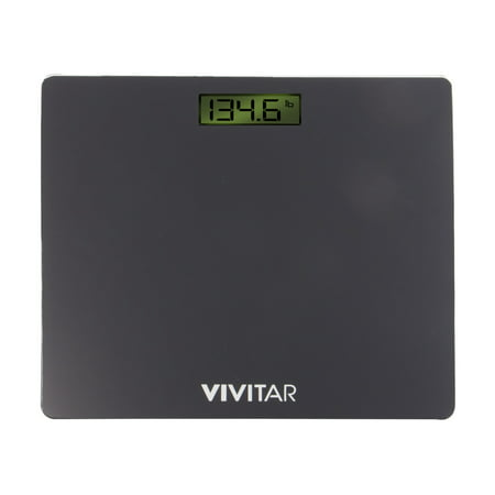 Vivitar Digital Bathroom Scale with 3.1-inch LCD display (Set 1 Inch Scale)