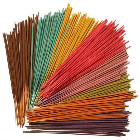Hosley® 160 Pack Incense Sticks - Black Cherry, Coconut, Floral Fields, Wind