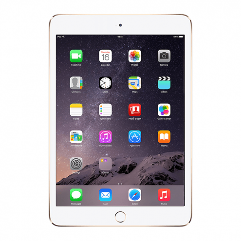 Pre-Owned iPad Mini 3 Retina Wifi Gold 64GB (MGY92LL/A)(2014)