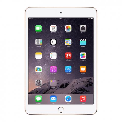 Refurbished iPad Mini 3 Retina Wifi Gold 128GB (MGYK2LL/A)(2014) 1 Year Warranty