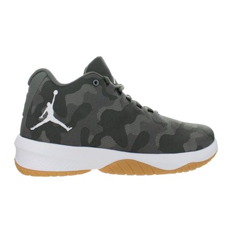 c6ae9bf5d6a Mens Air Jordan B. Fly River Rock White Dark Stucco 881444-051 - Walmart.com