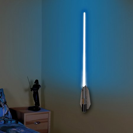 Lightsaber Light (Star Wars Deluxe Lightsaber Room Light - 8 Different Blade Handheld)