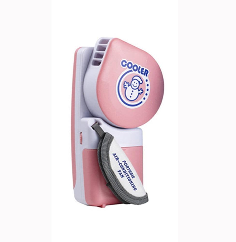 Portable Mini Hand Held Handy USB/Battery Mini Air Conditioner Cooler Fan
