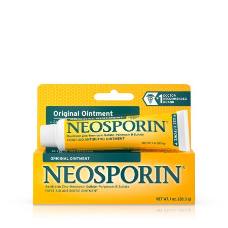 Otomax Ointment (Neosporin Original Antibiotic Ointment to Prevent Infection, 1)