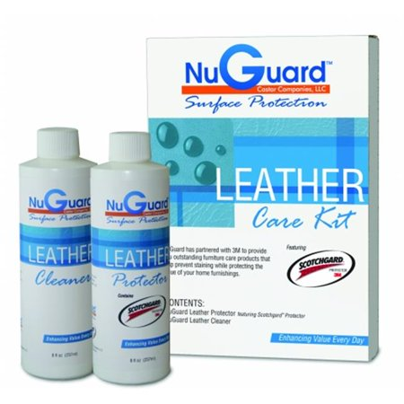 nuguard sg lk000 nuguard leather care furniture protection kit featuring scotchgard - Leather Furniture Care Kit