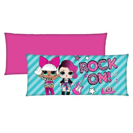 L.O.L. Surprise! Kids Bedding Body Pillow, 1 - Pillows For Kids