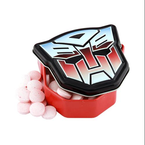 Transformers Autobot Strawberry Sours Candy Tin