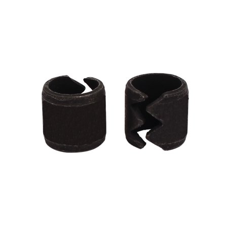 Swa 12Mm Carbon Steel Spring Split Dowel Tension Roll Cotter Pin Black 2Pcs