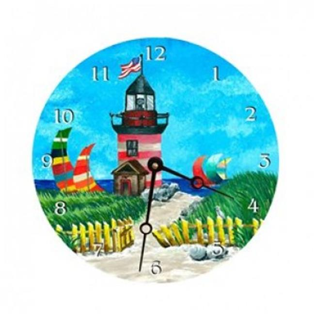 Lexington Studios 23065R Light House Round Clock by Lexington Studios