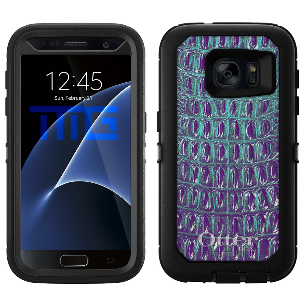 OtterBox Defender Samsung Galaxy S7 Case - Alligator Faux...