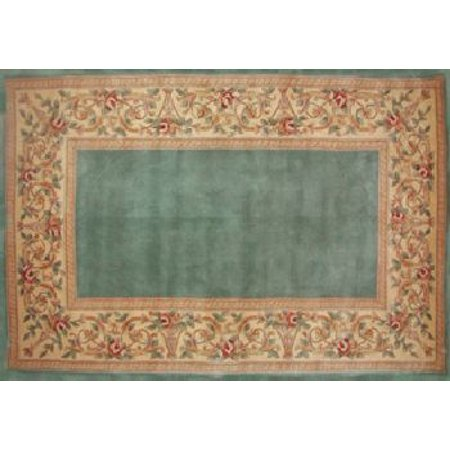 30 X 50 Ruby Series Wool Hearth Rug Slate Blue With
