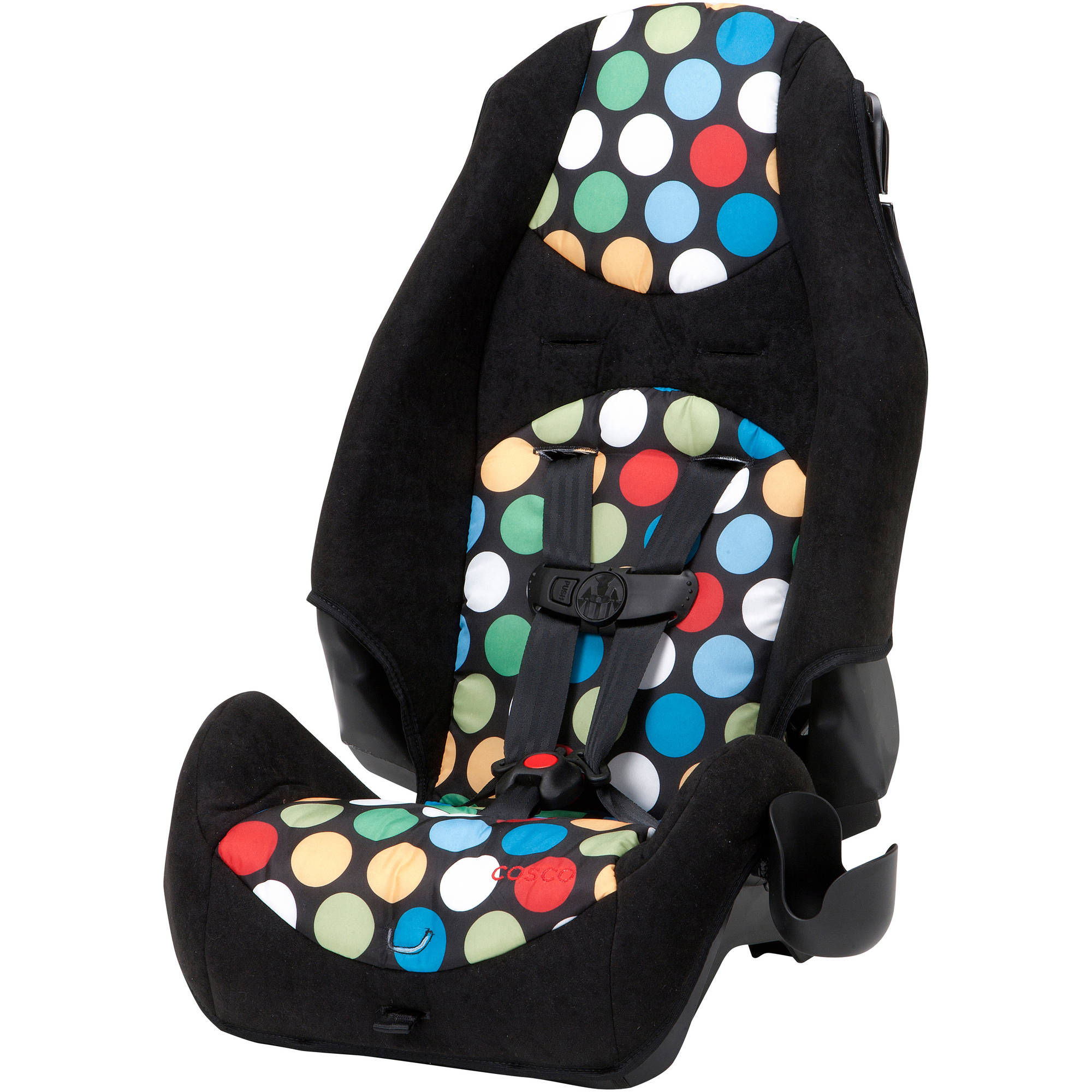 Cosco Highback 2-in-1 Booster Car Seat, Broadway Dots