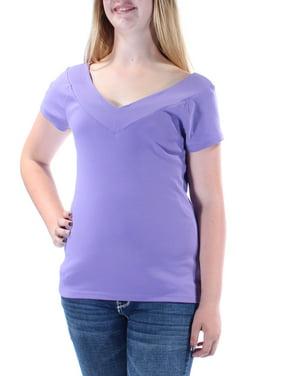 9c6e478e0 Product Image RALPH LAUREN Womens Purple Sleeveless V Neck Top Size: L