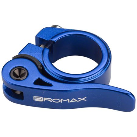 Quick Release Seat Clamp (Promax QR-1 Quick Release Seat Clamp 25.4mm Blue)
