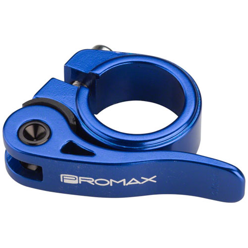 Promax QR-1 Quick Release Seat Clamp 25.4mm Blue