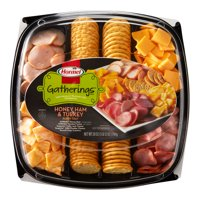 Hormel Gatherings Honey Ham and Turkey Party Tray; 28 oz.; Sargento Cheese, Honey Ham, Smoked Turkey