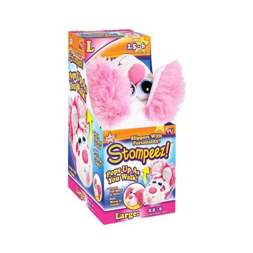Stompeez! Playful Puppy Large Slippers