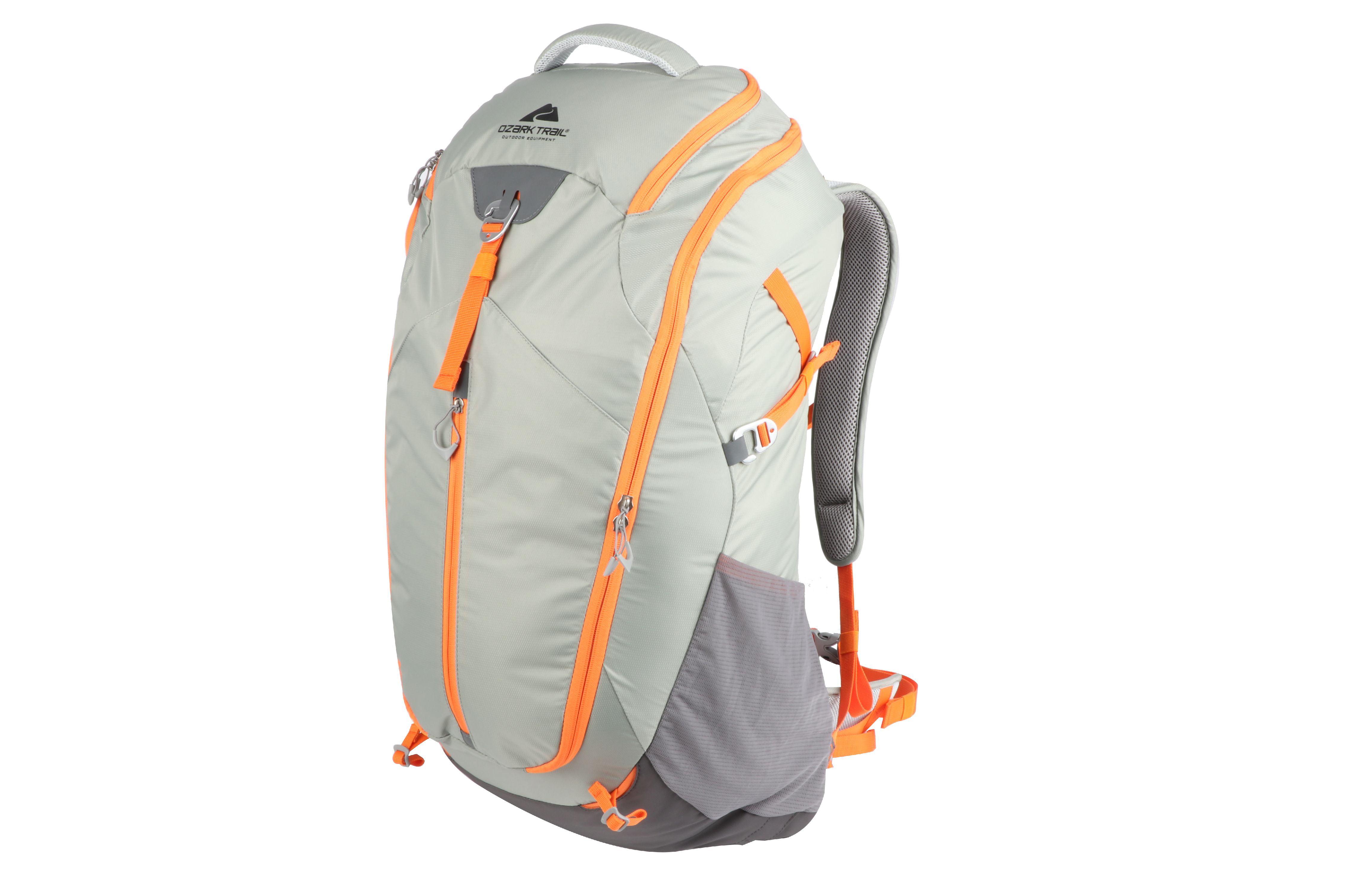 3dbe1f3b901c Ozark Trail Lightweight Hydration Compatible Hiking Backpack 40L ...