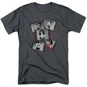 Bettie Page Exposure Mens Short Sleeve Shirt