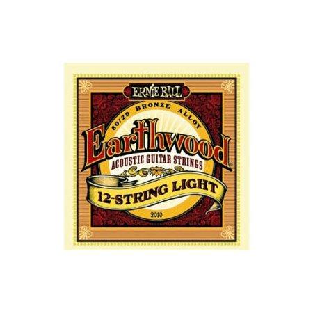Earthwood 80/20 Bronze Acoustic String Set, 12 -