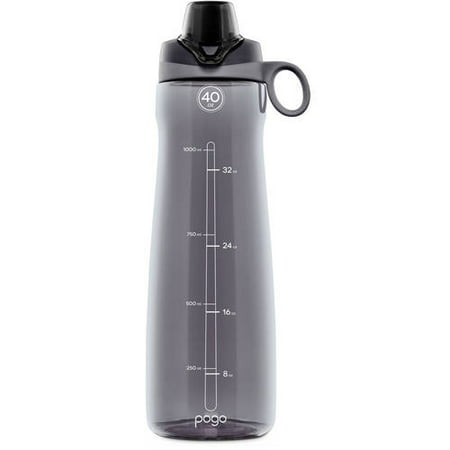 Plastic Water Bottles Wholesale (Pogo BPA-Free Plastic Water Bottle with Chug Lid, 40)