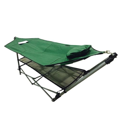 Foldable Leisure Enjoyment Outdoor Hammock + Hammock Stan...