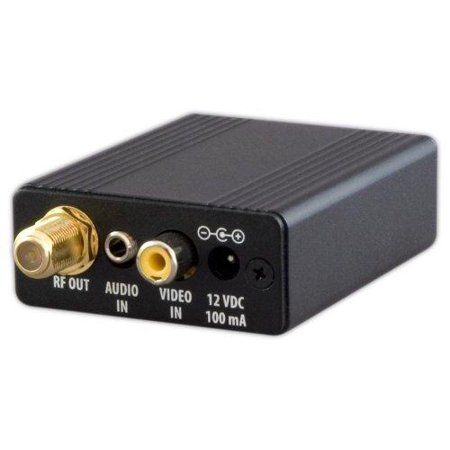 net media nm-mm70 single channel video and audio modulator with gain adjustment