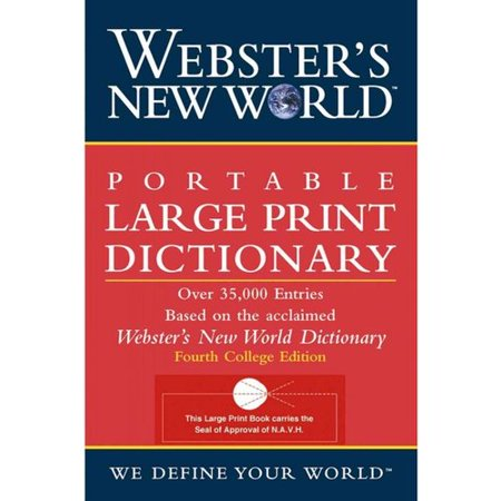 Websters New World Portable Dictionary