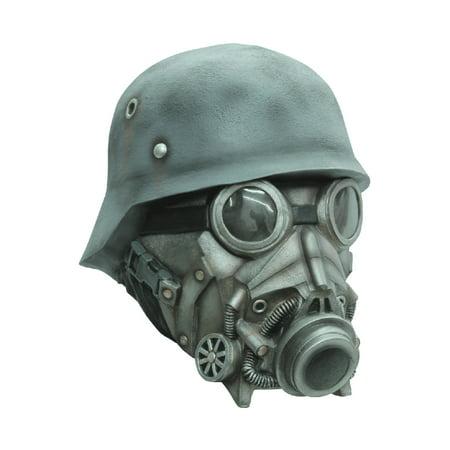 Chemical Warfare Adult Mask](Green Goblin Halloween Mask)