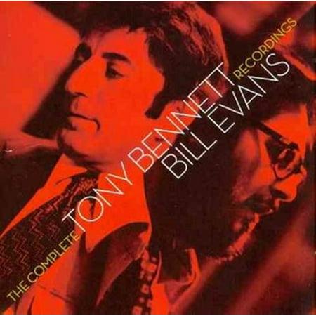 Complete Tony Bennett Bill Evans Recordings (CD)