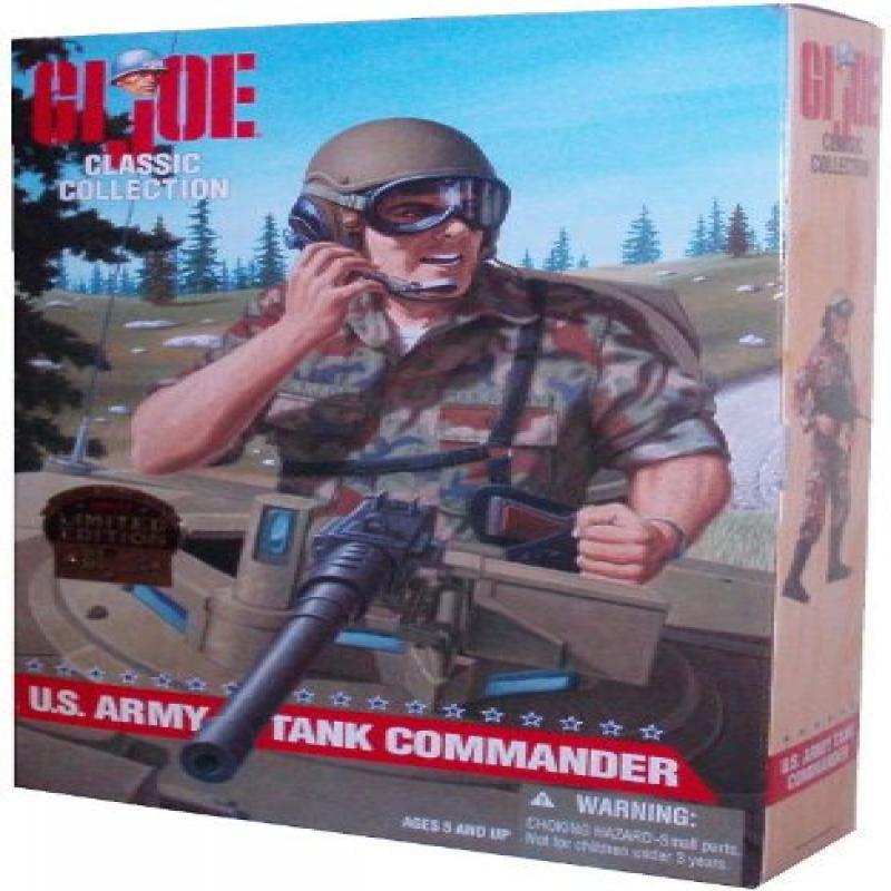 Kenner G.I. Joe U.S. Army Tank Commander 1997 Limited Edi...