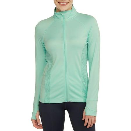 Danskin Now Women S Full Zip Performance Jacket