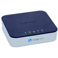 Obihai OBi202 VoIP Telephone Adapter with Router & 2-Phone Ports (Works with Google Voice)