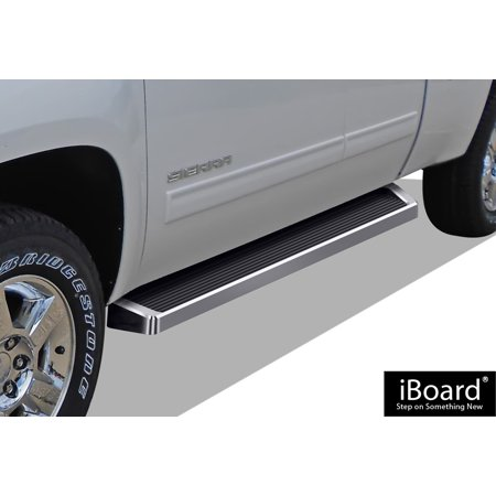 iBoard Running Board For Chevrolet/Gmc Silverado/Sierra Extended Cab 2 Full + 2 Suicide Doors