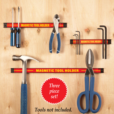 Magentic Tool Wall Holder- 3pc