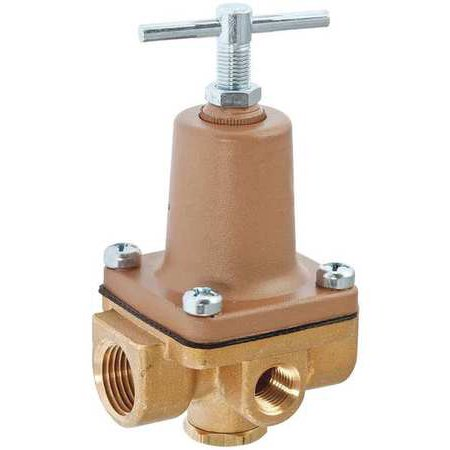 Watts Water Pressure Regulator (WATTS 1/4 LF263A 10-125 Water Pressure Regulator Valve,1/4 In. )