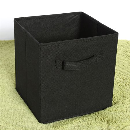 Non-woven Fabric Storage Boxes, Foldable Household Clothes Toys Organizers Boxes, Lightweight Cube Magazines Art Craft Supplies Storage Container for Home Closet Bedroom Drawer - Clothes Magazines