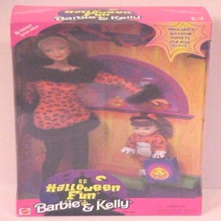 Target Special Edition Halloween Fun Barbie and Kelly - Halloween Barbie Target