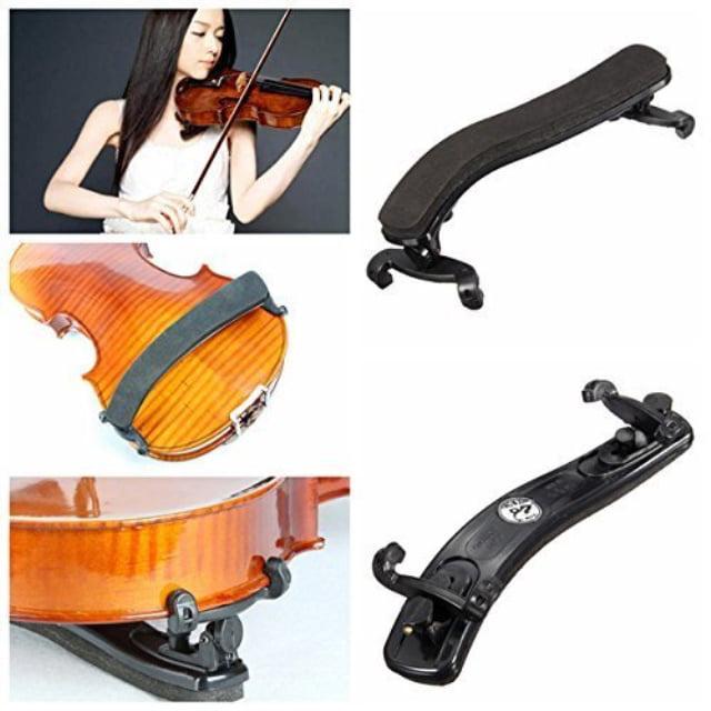 Brand New Plastic Violin Shoulder Rest Adjustable fit 3//4 to 4//4 violin