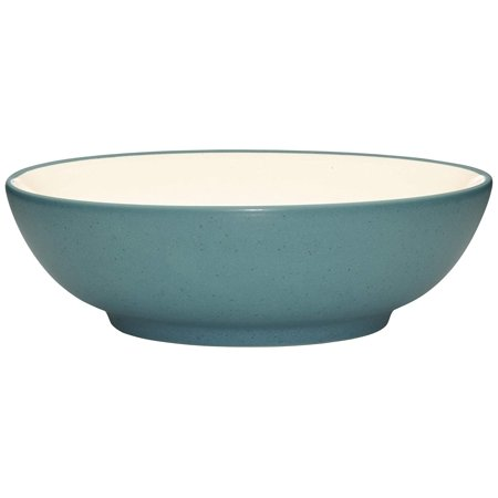 Colorwave Soup/Cereal Bowl, Turquoise By Noritake Ship from US (Noritake Dessert)