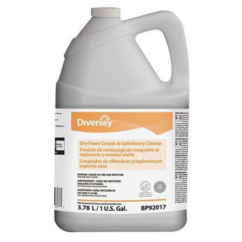 DIVERSEY BP92017 Floor Cleaner, Liquid, 1 gal., Floral, PK4