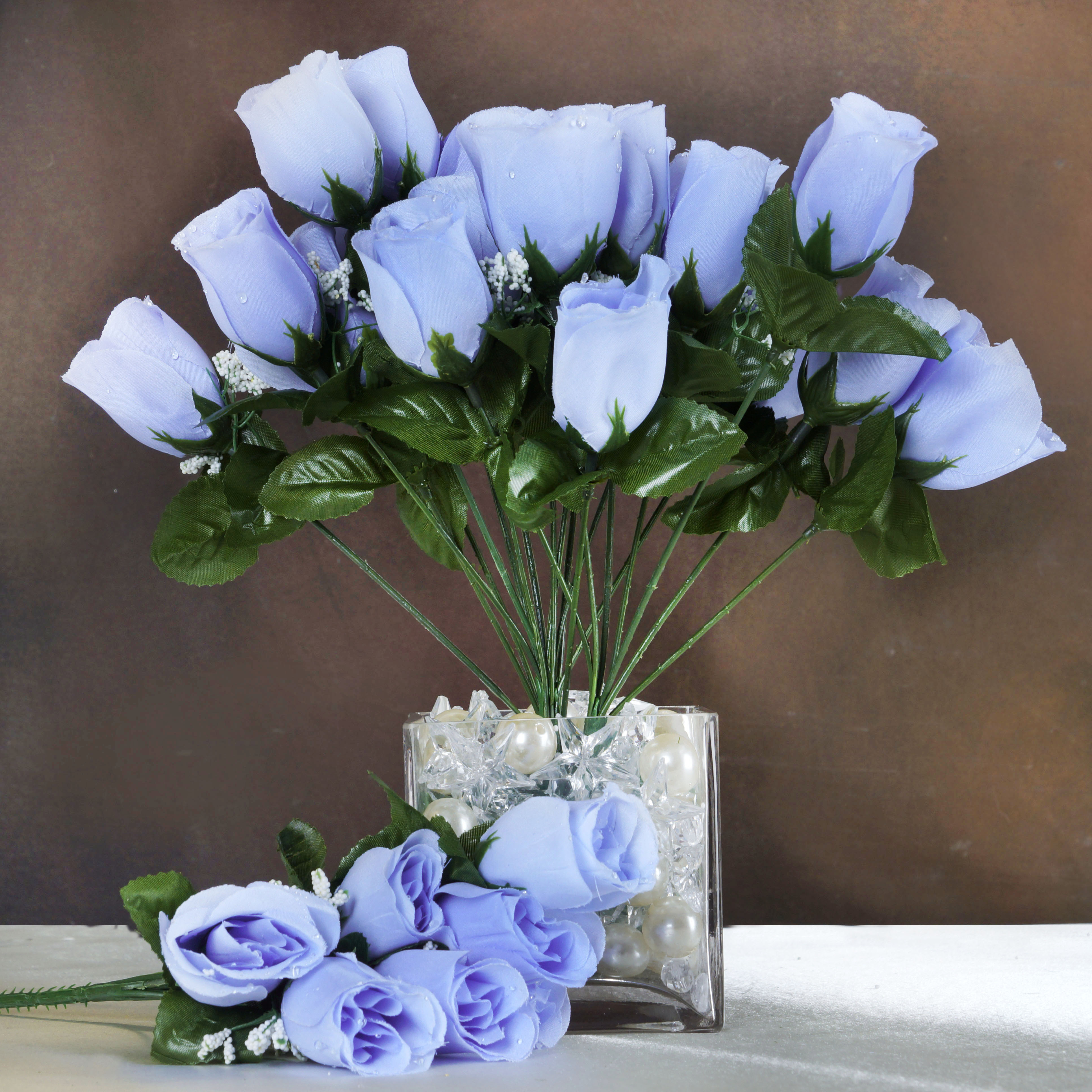 BalsaCircle 84 Silk Buds Roses Wedding Flowers Bouquets SALE