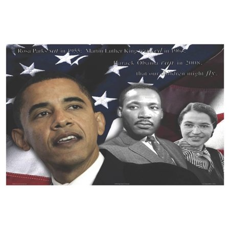 Zachary Brazdis - Barack Obama - Our Children Will Fly Poster - 18x12
