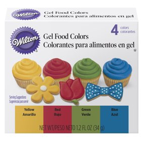 McCormick Assorted Food Color & Egg Dye, 1 fl oz, 4 Count