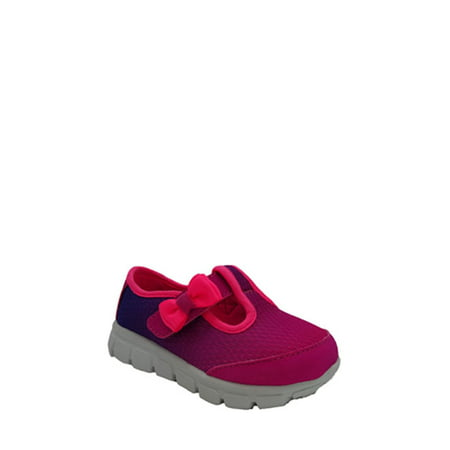 - Athletic Works Toddler Girl's T-Strap Athletic Shoe